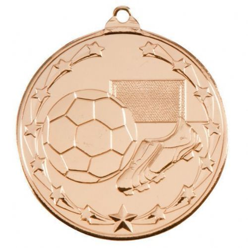 Starboot Economy Football Medal Gold 50mm
